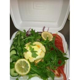 S6. Vuohenjuusto salaatti