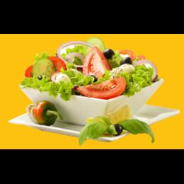 KF9. Kanafile Salaatti + leipä